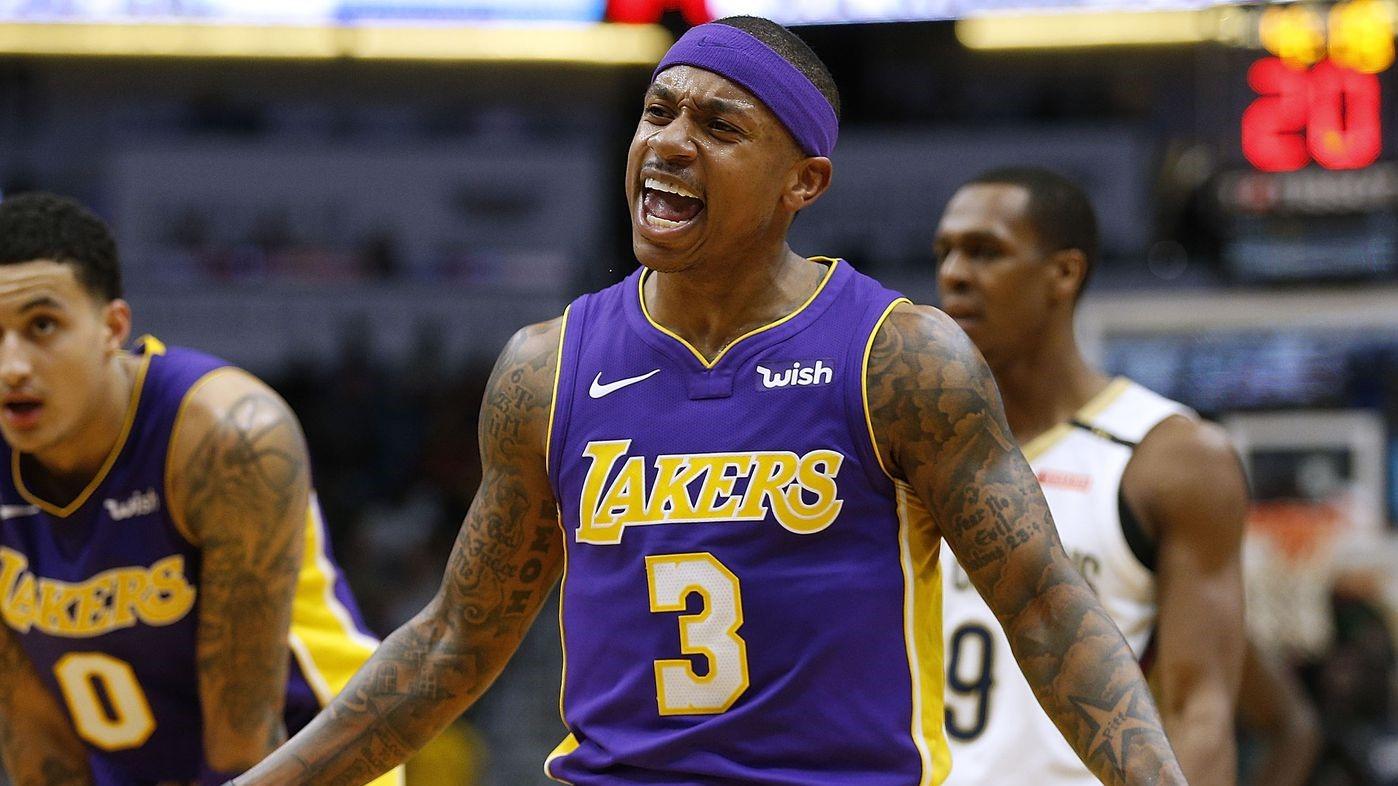 Isaiah Thomas NBA Lakers dallas mavericks