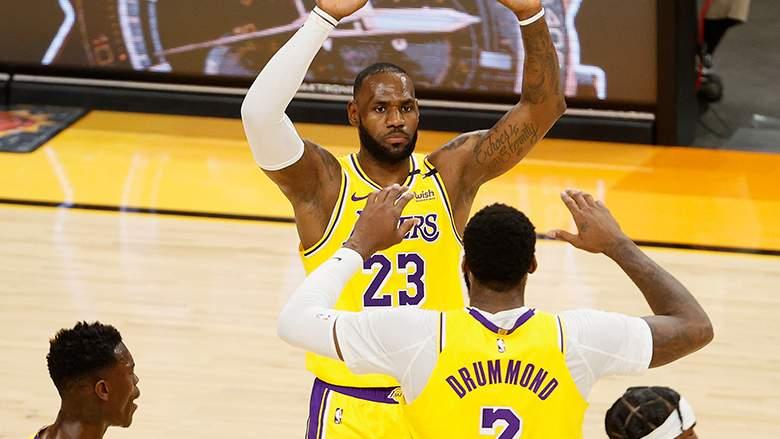 NBA Andre Drummond LeBron James