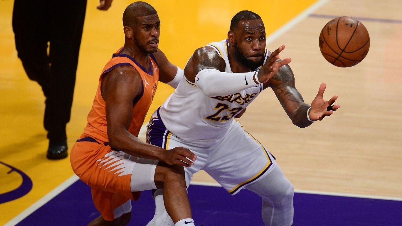 NBA LeBron James Chris Paul
