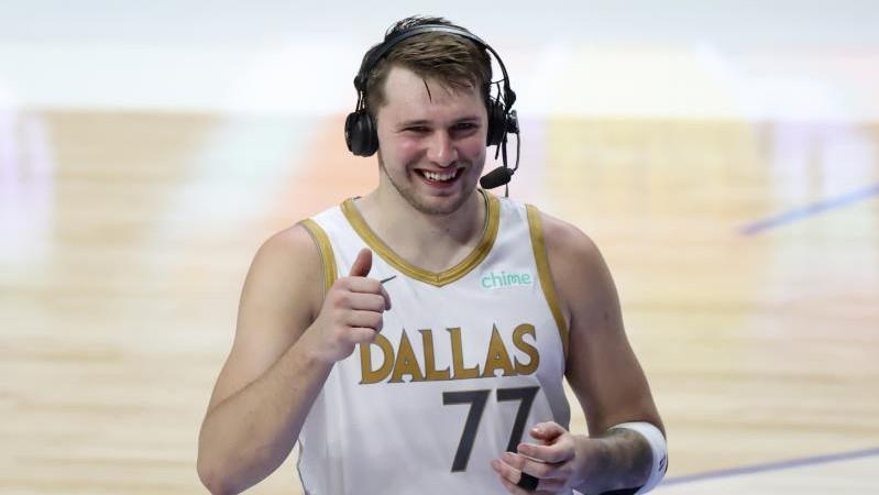 NBA Luka Doncic Dallas Playoff
