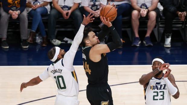 NBA Memphis Utah gara-1 playoff