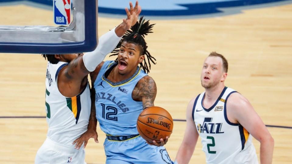 NBA Morant 100 punti