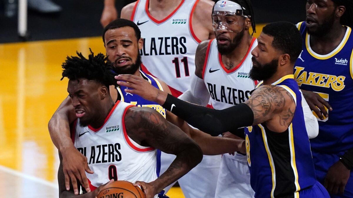 Portland Lakers NBA play-in
