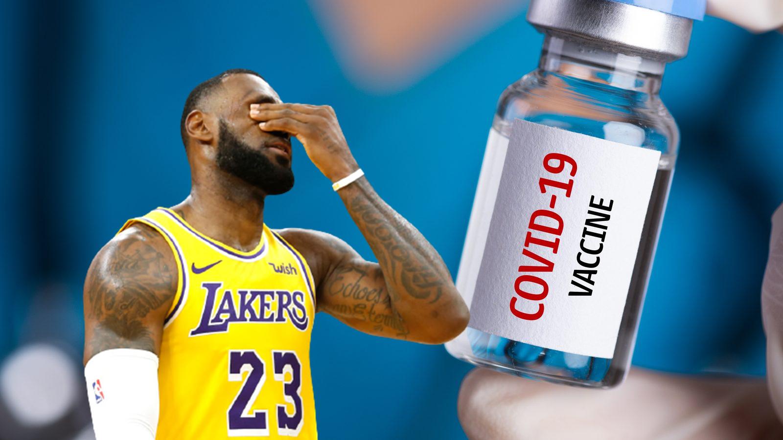 lebron vaccino covid