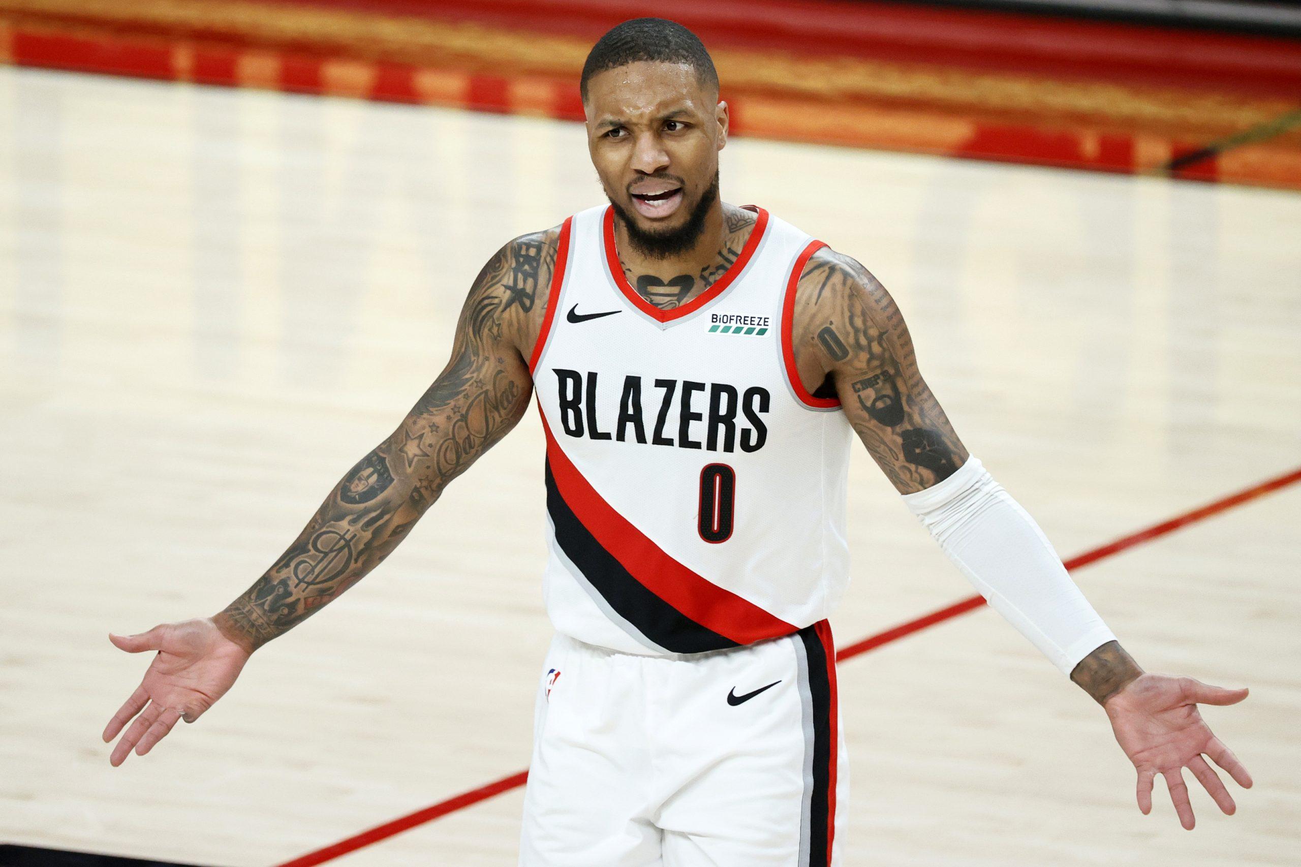 damian lillard portland lebron davis NBA