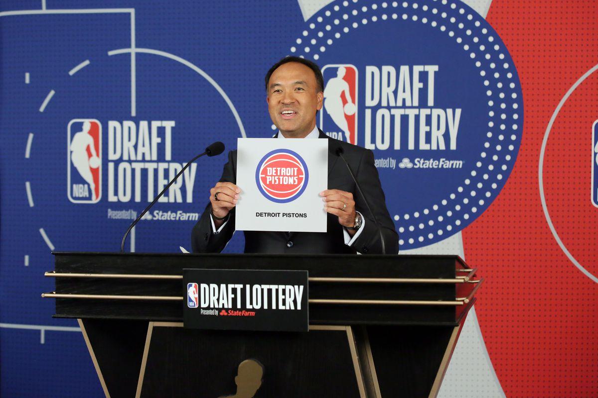 pistons nba draft lottery