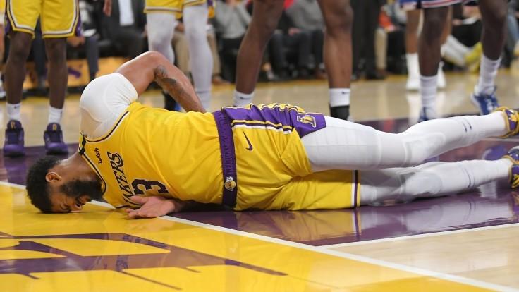 NBA Anthony Davis Lakers