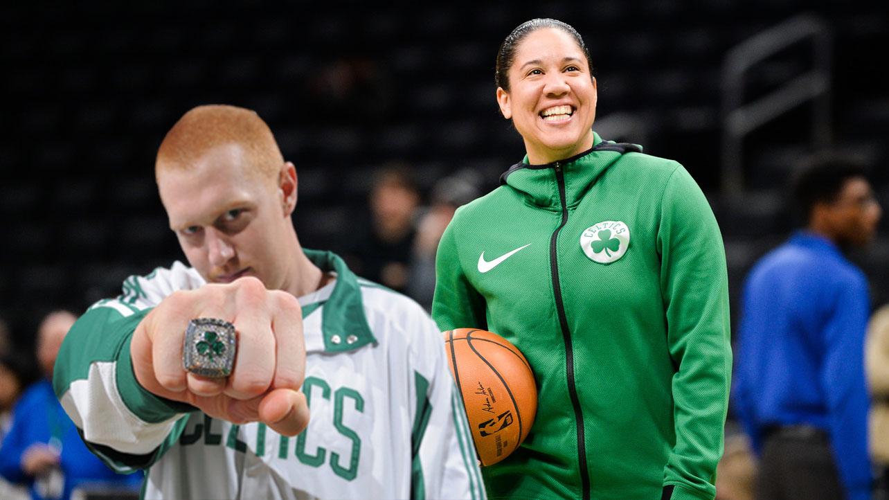 NBA Brian Scalabrine Kara Lawson