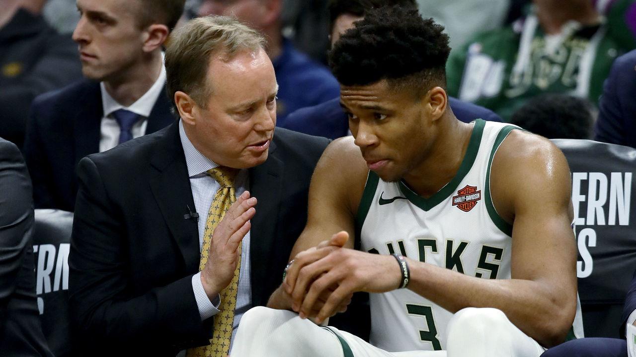NBA Budenholzer Antetokounmpo infortunio