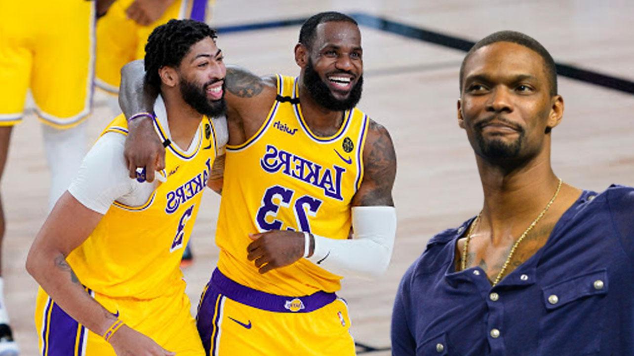 NBA Chris Bosh Anthony Davis Lakers LeBron
