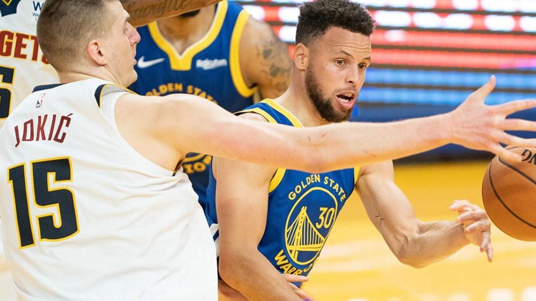 NBA Curry Nikola Jokic