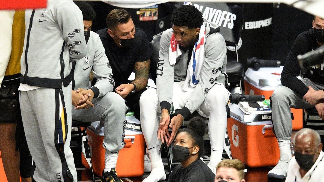 NBA Donovan Mitchell infortunio