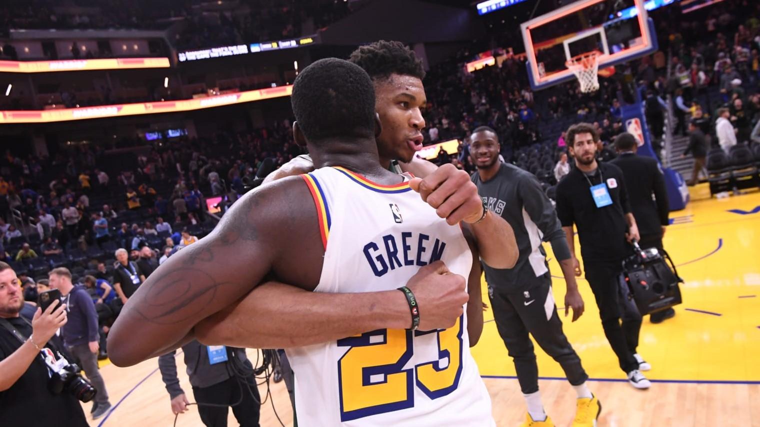 NBA Draymond Green Bucks Nets