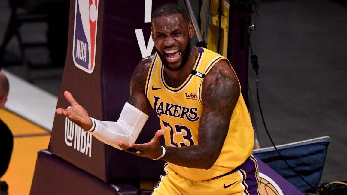 NBA LeBron James odiato