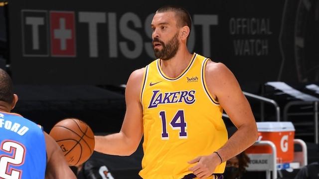 NBA Marc Gasol Lakers
