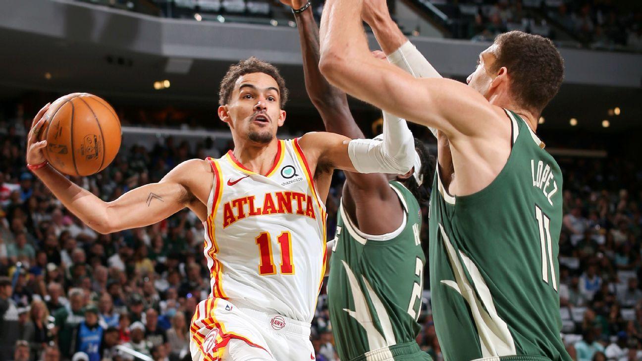 NBA Trae Young 48