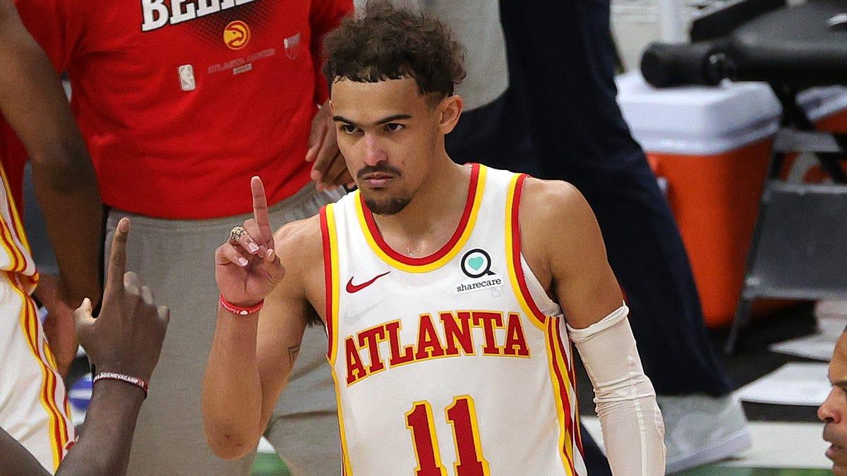 NBA Trae Young Luka Doncic