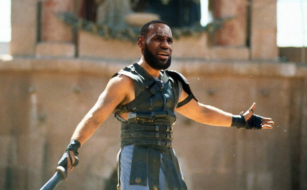 lebron james gladiatore