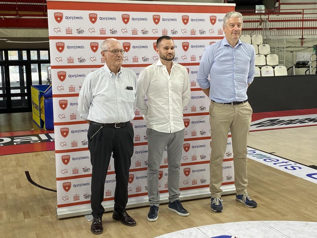 Toto Bulgheroni, Adriano Vertemati e Andrea Conti