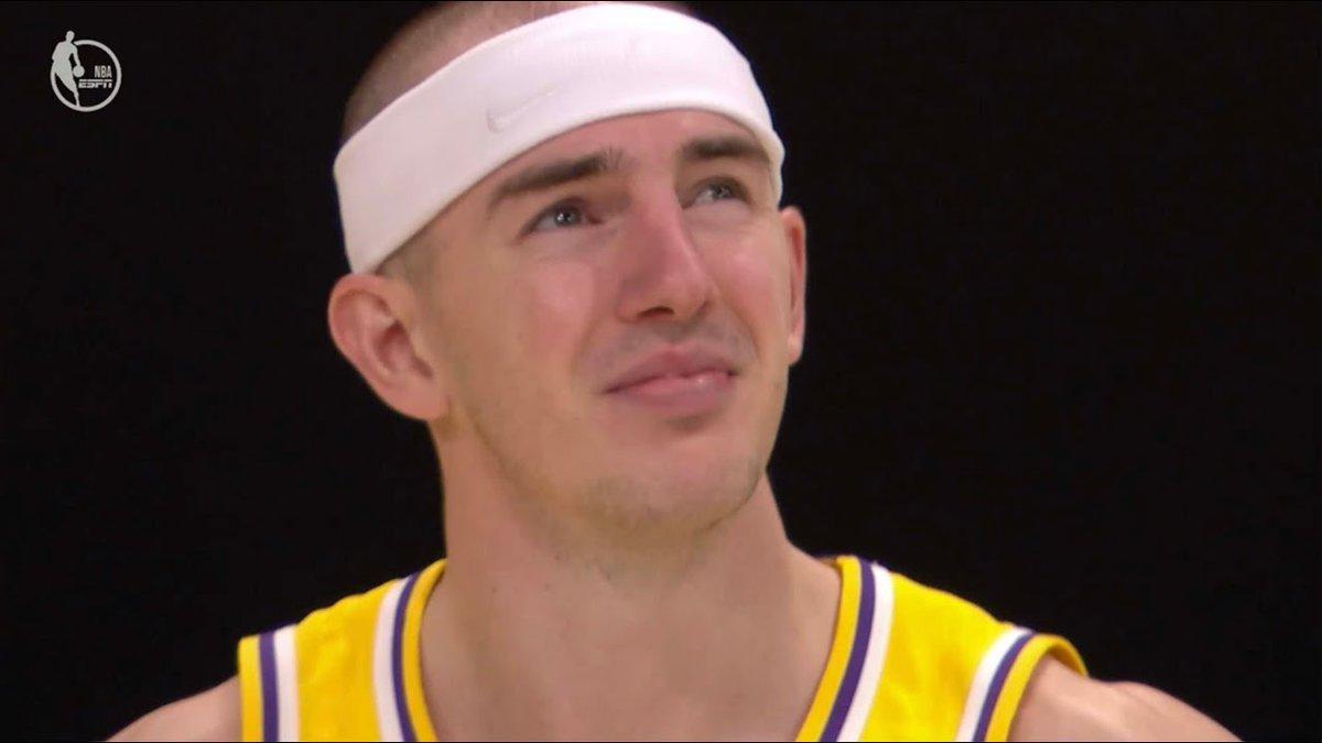 NBA Alex Caruso Lakers