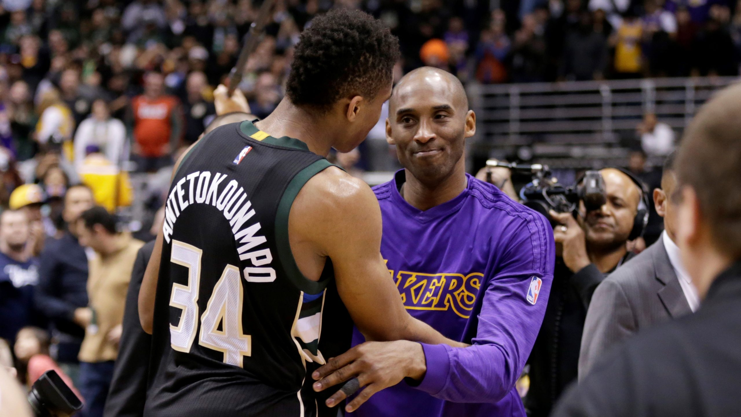 NBA Antetokounmpo Kobe Bryant