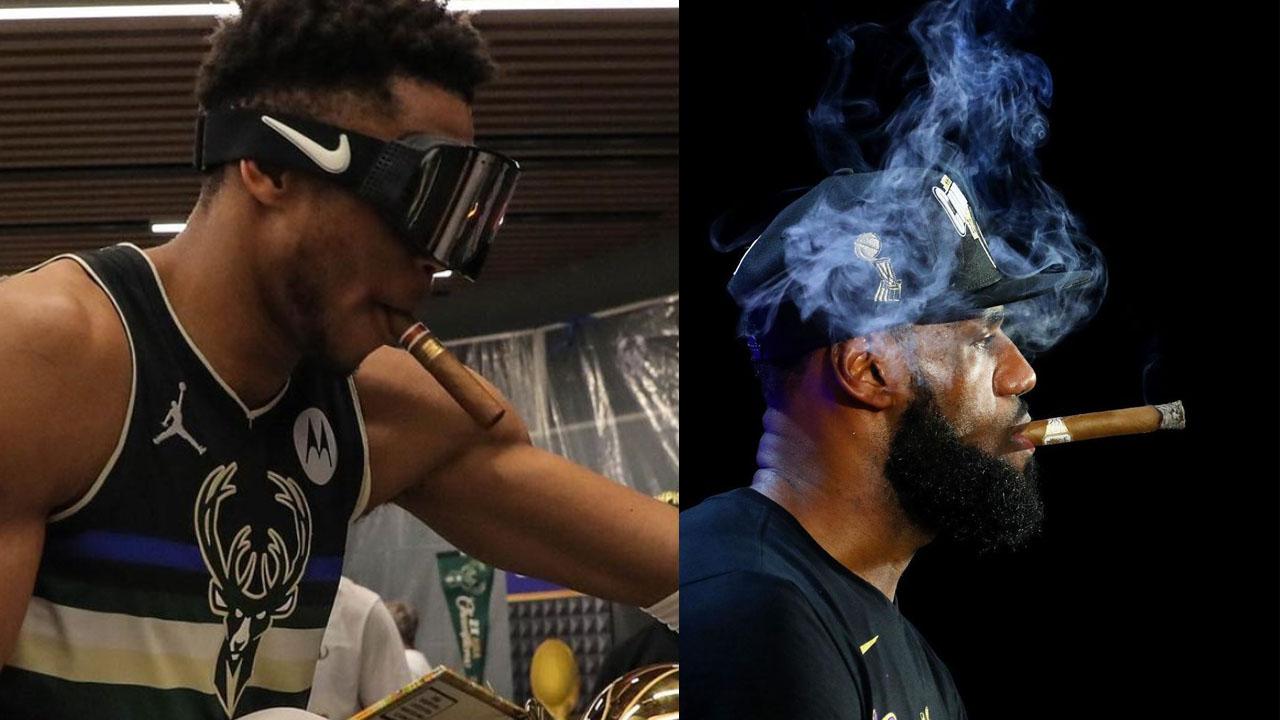 NBA LeBron Antetokounmpo sigaro