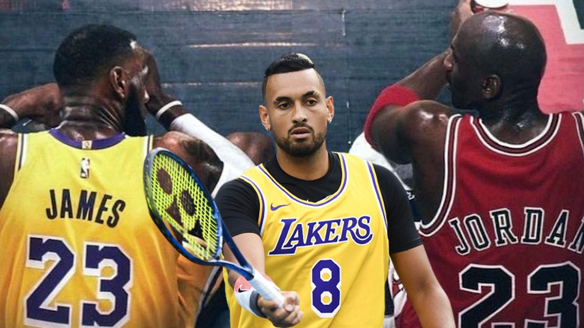 NBA LeBron Jordan Kyrgios