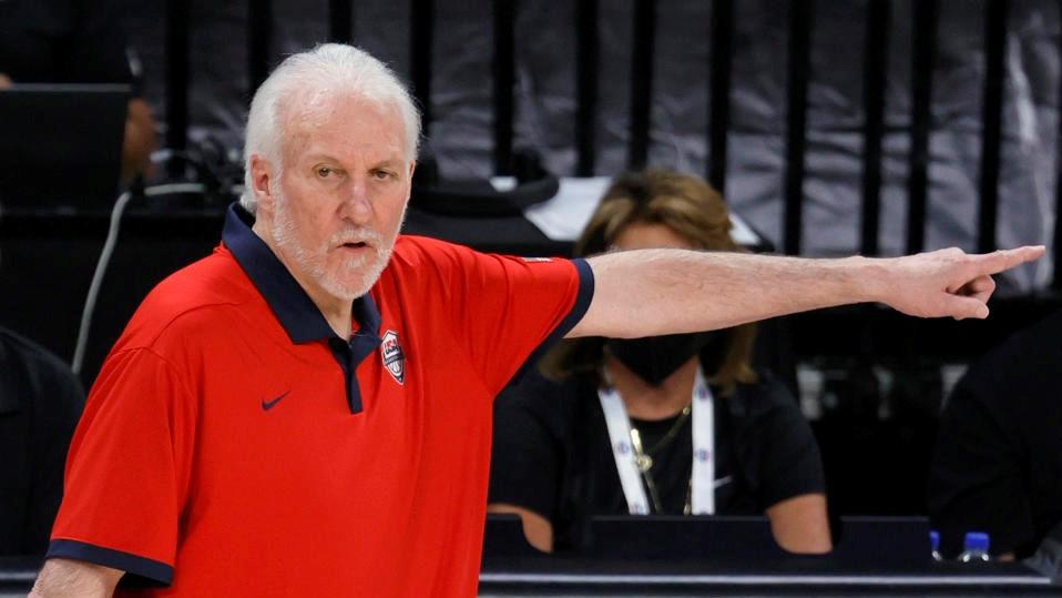 NBA Popovich USA Australia