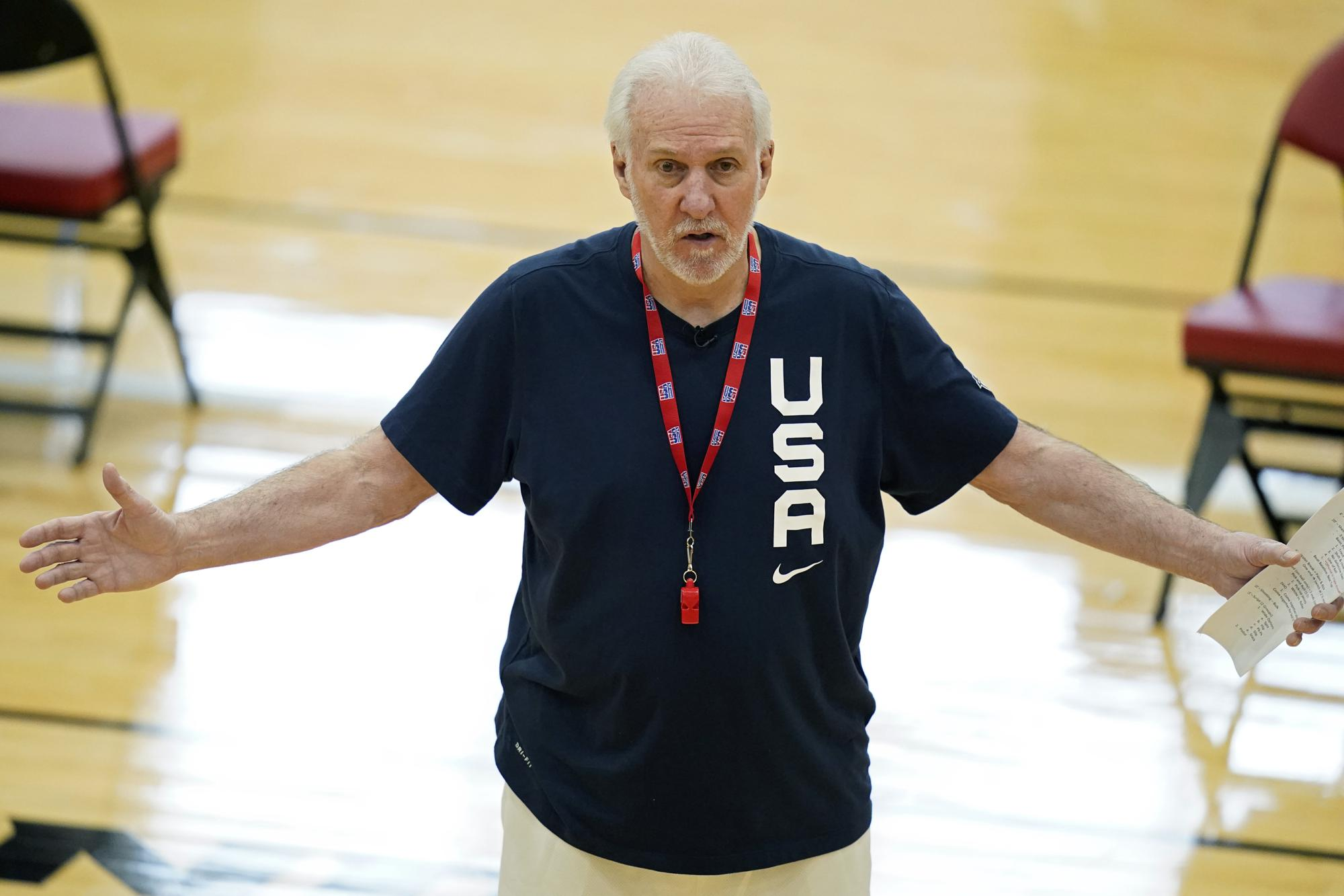 Team USA McGee Popovich