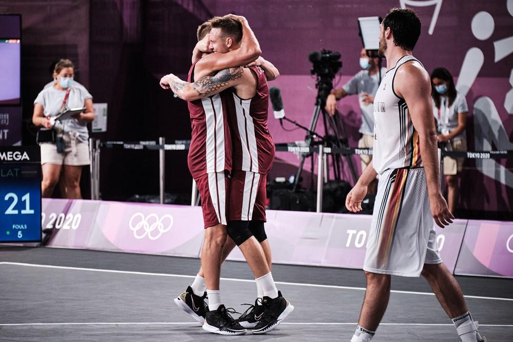 lettonia 3x3 basket olimpiadi
