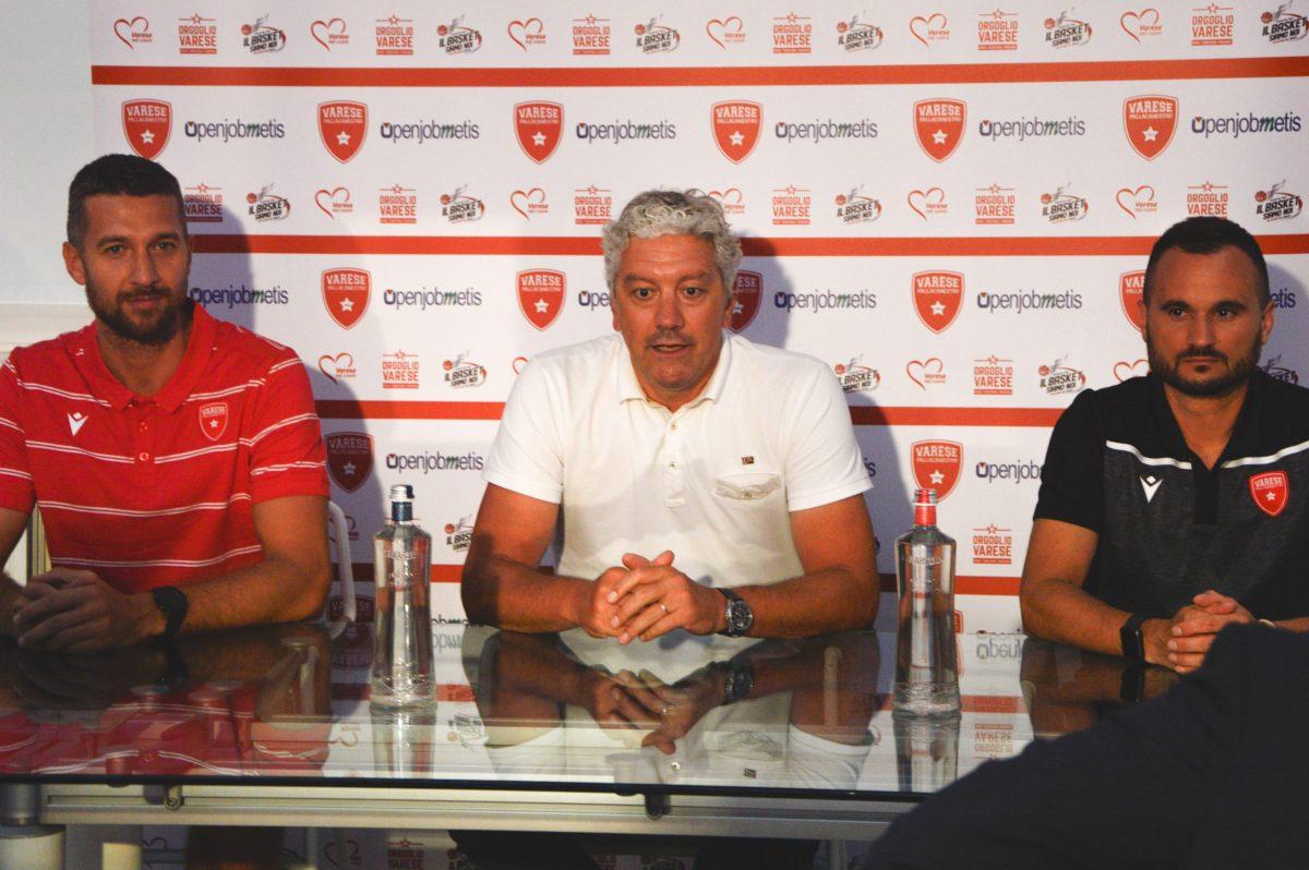 Giancarlo Ferrero, Andrea Conti e Adriano Vertemati