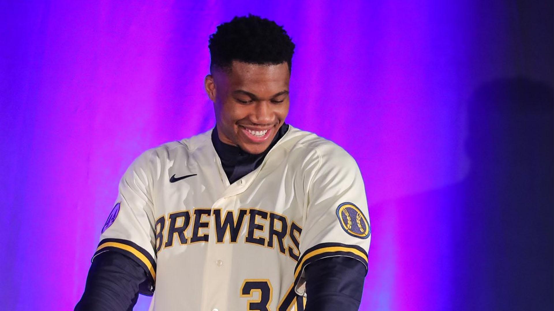 NBA Antetokounmpo Milwaukee baseball