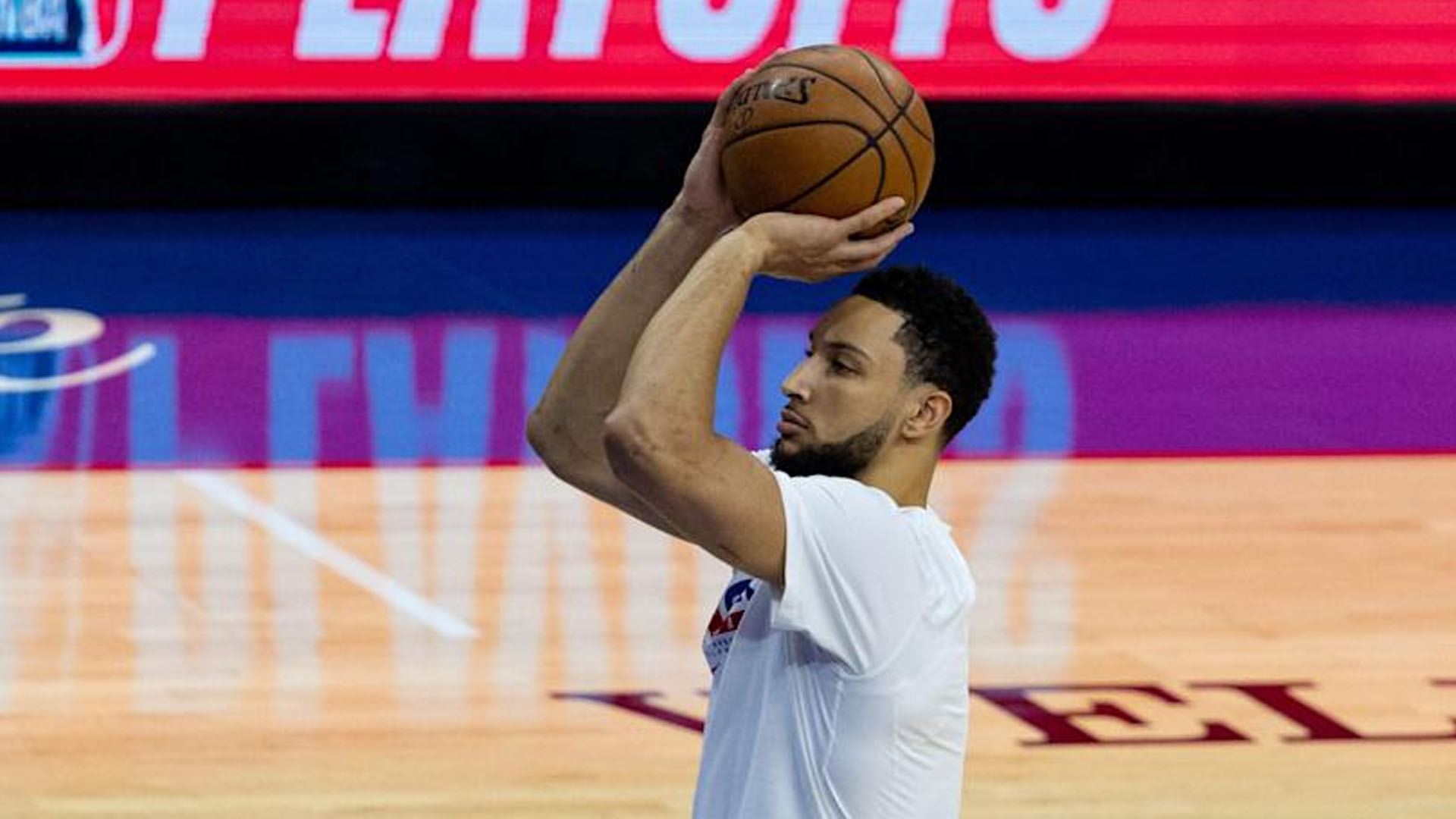 NBA Ben Simmons tripla