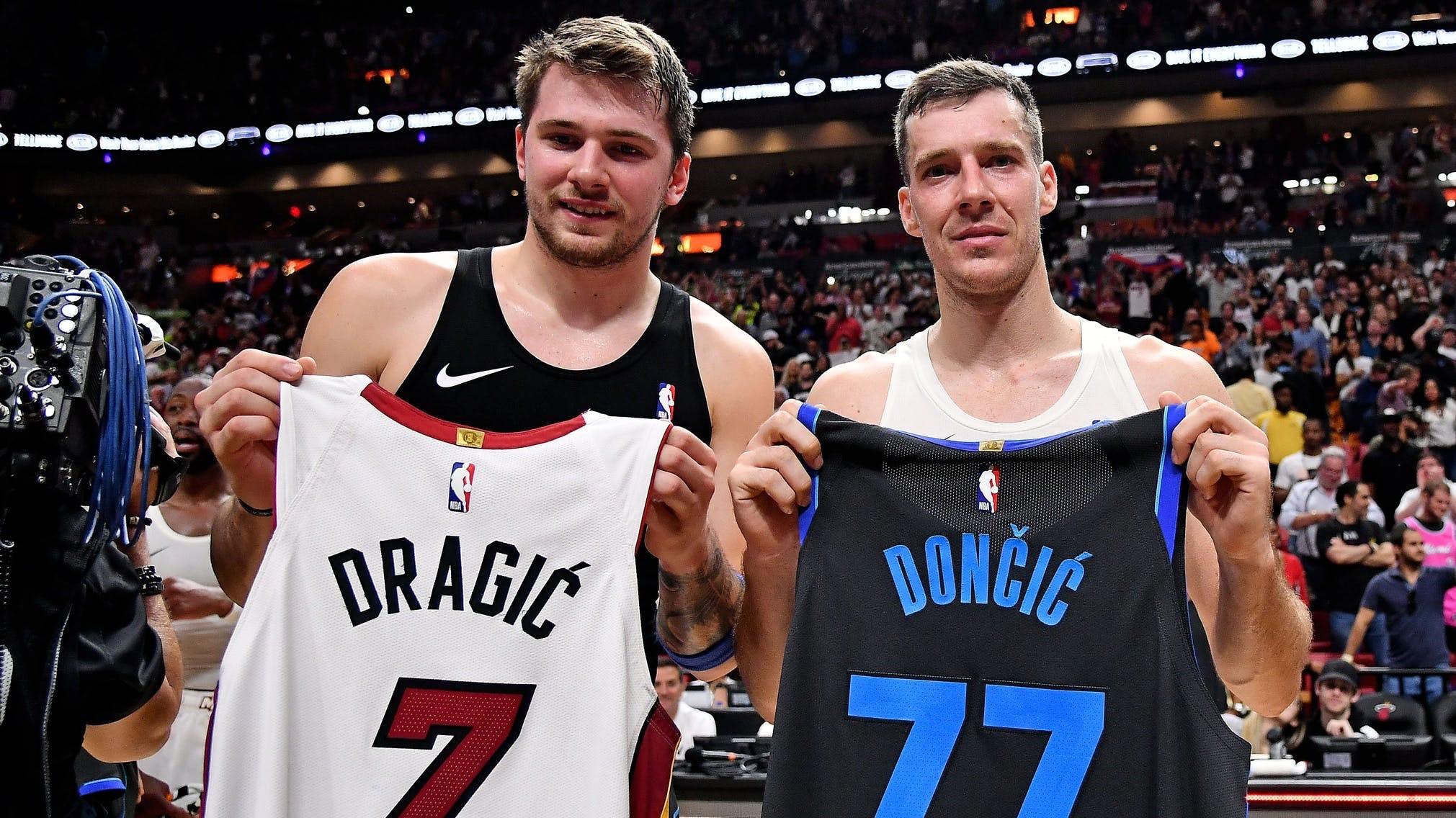 NBA Dallas Doncic Dragic