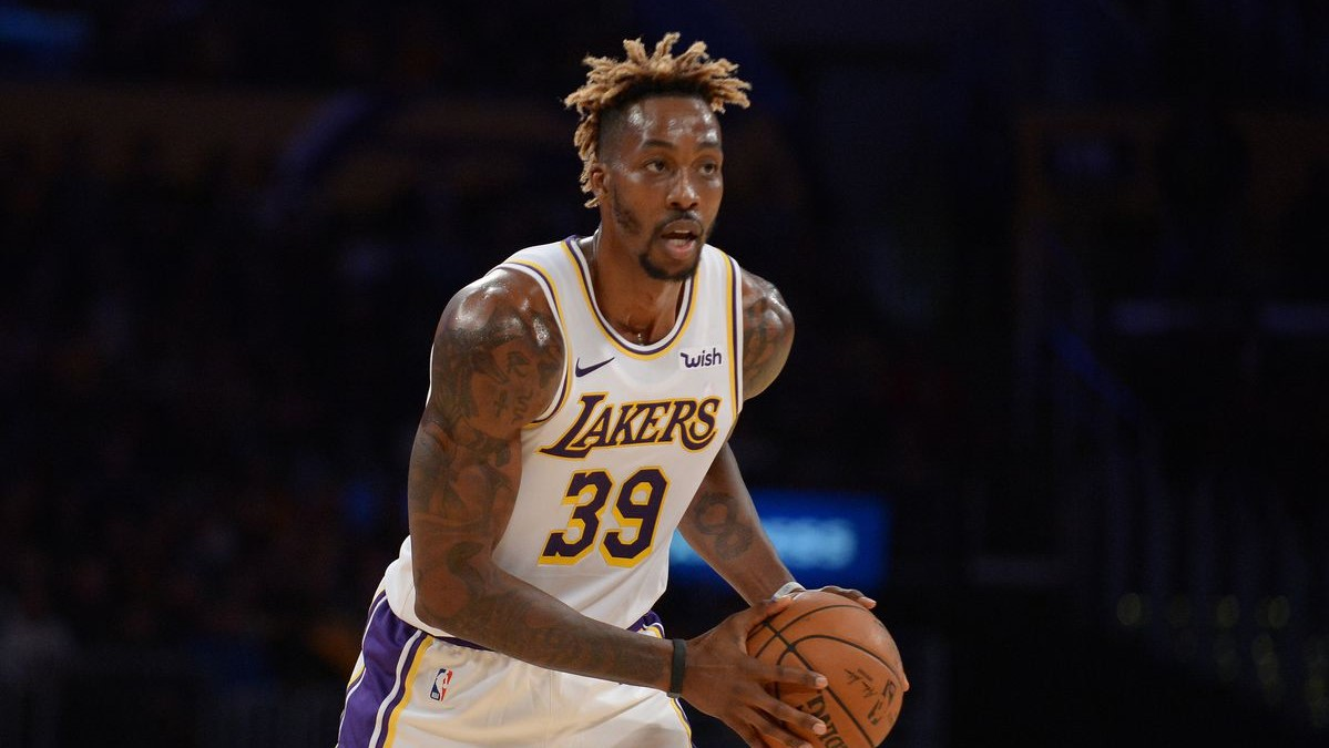 NBA Dwight Howard Lakers