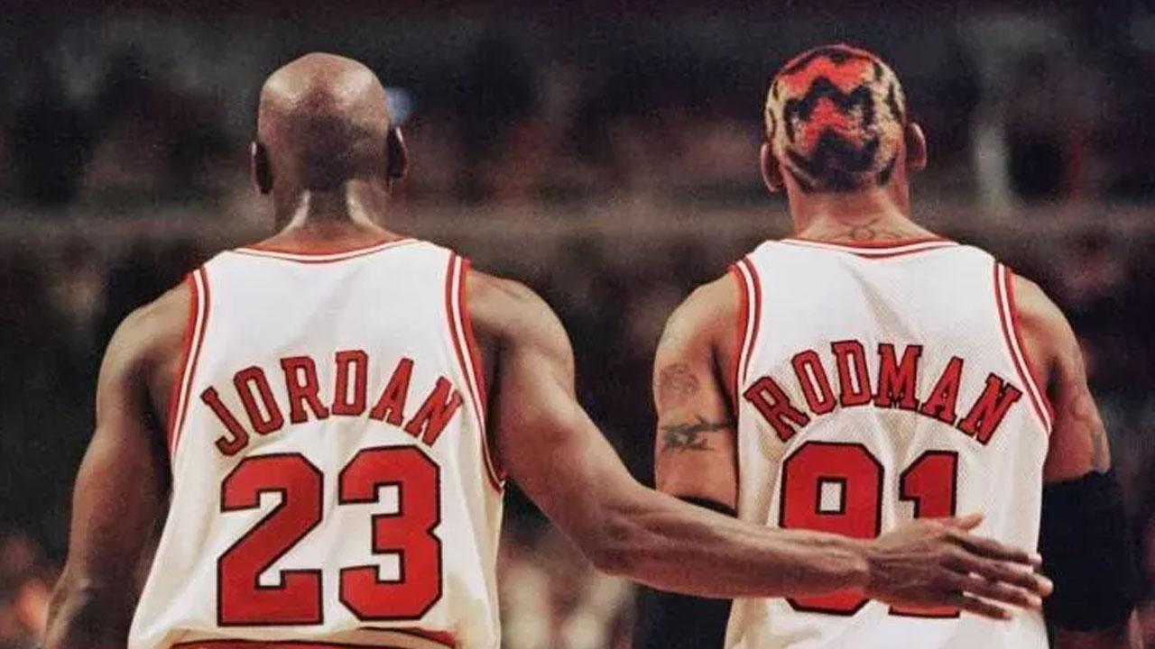 NBA Jordan Rodman top 50