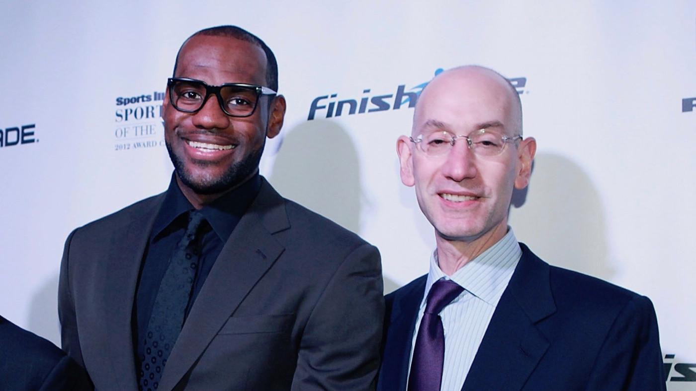 NBA LeBron Silver Play-in