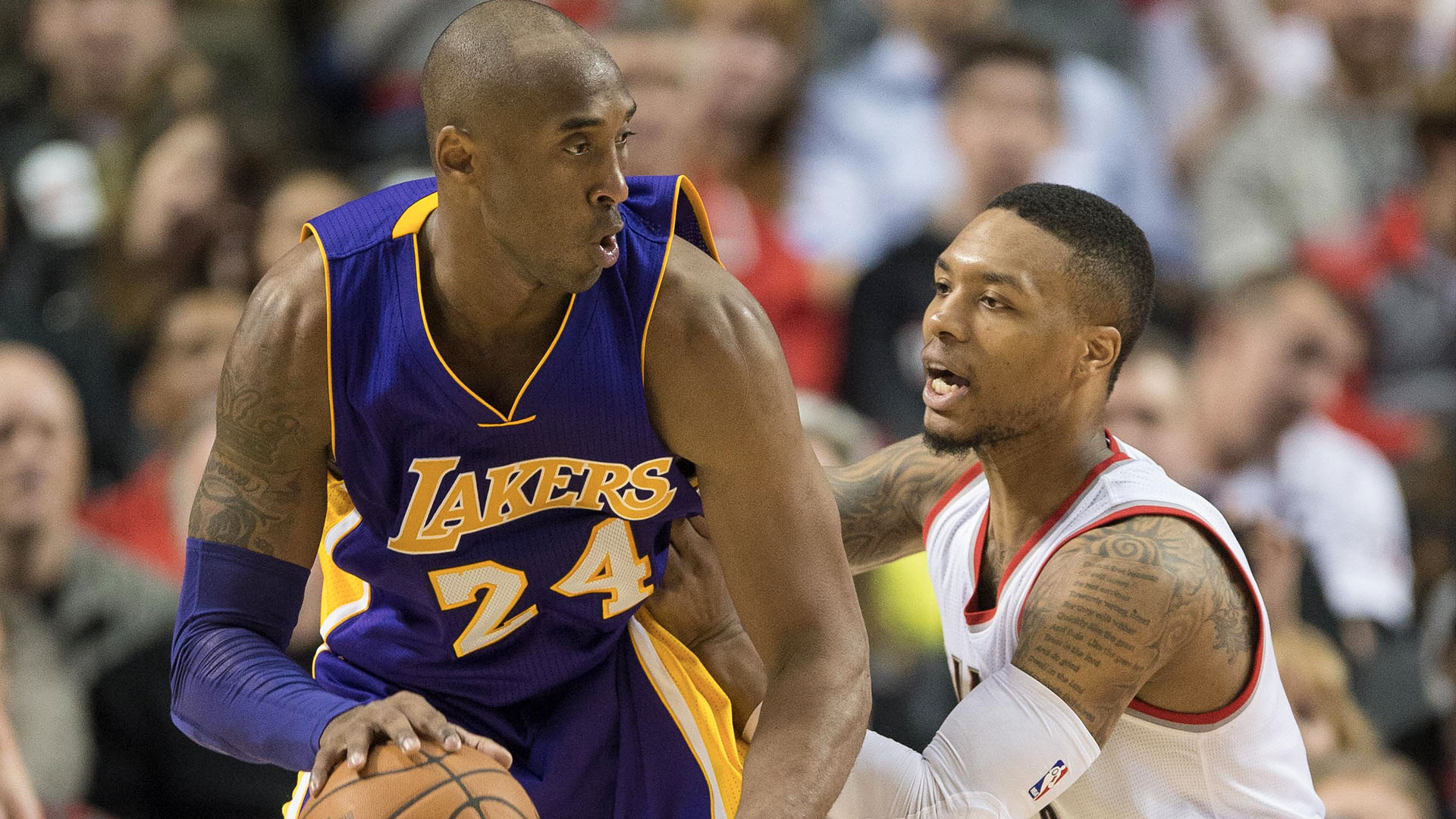 NBA Lillard Kobe Bryant