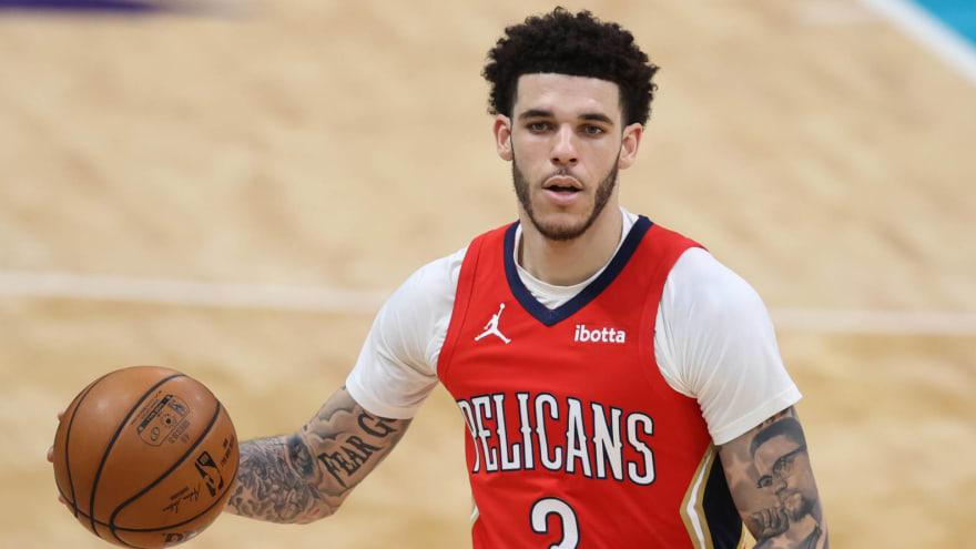 NBA Lonzo Ball Chicago