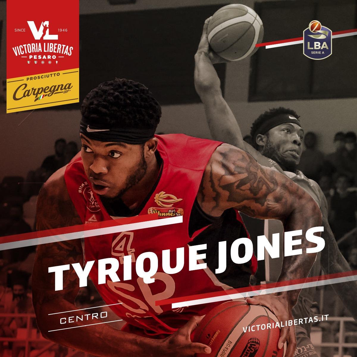 Tyrique Jones Pesaro