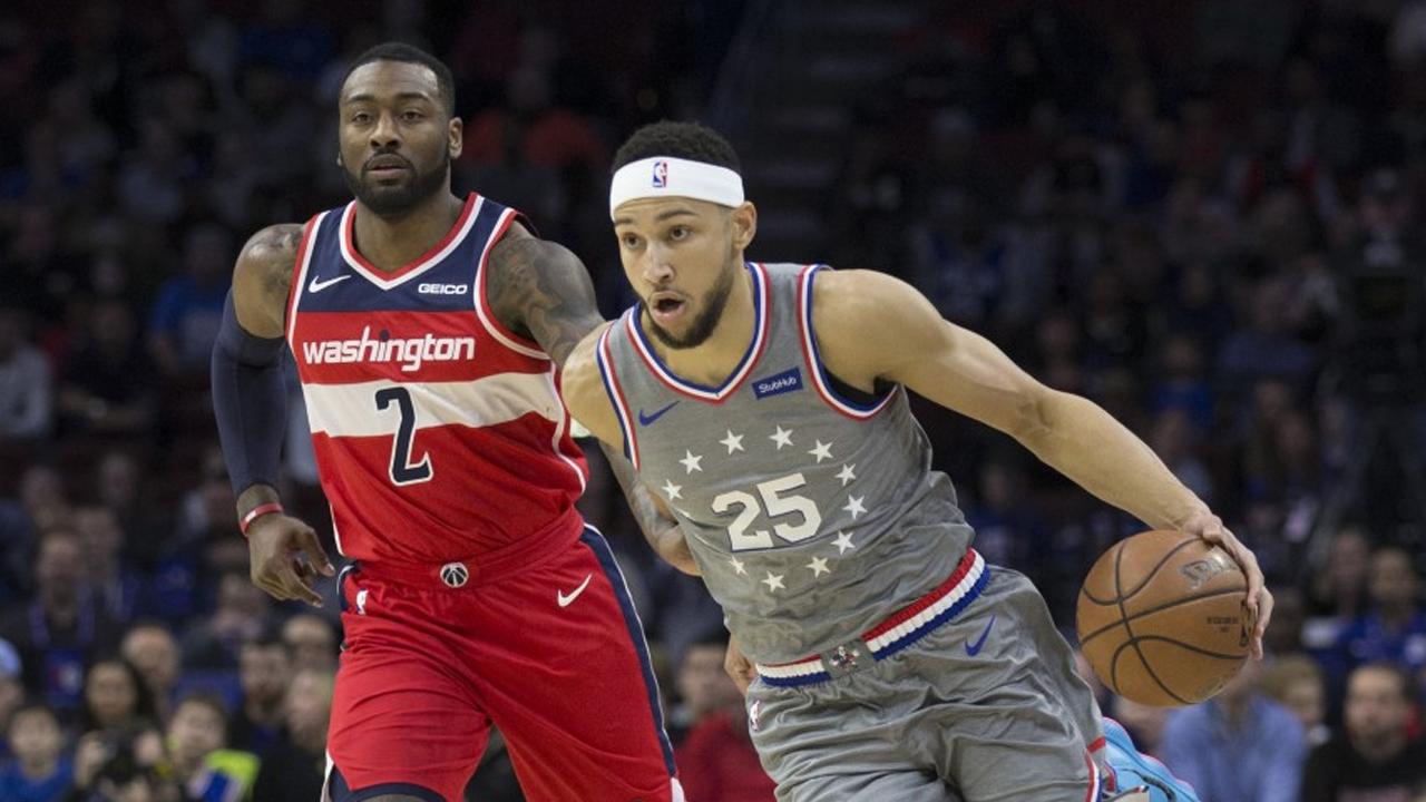 NBA Houston Wall Simmons
