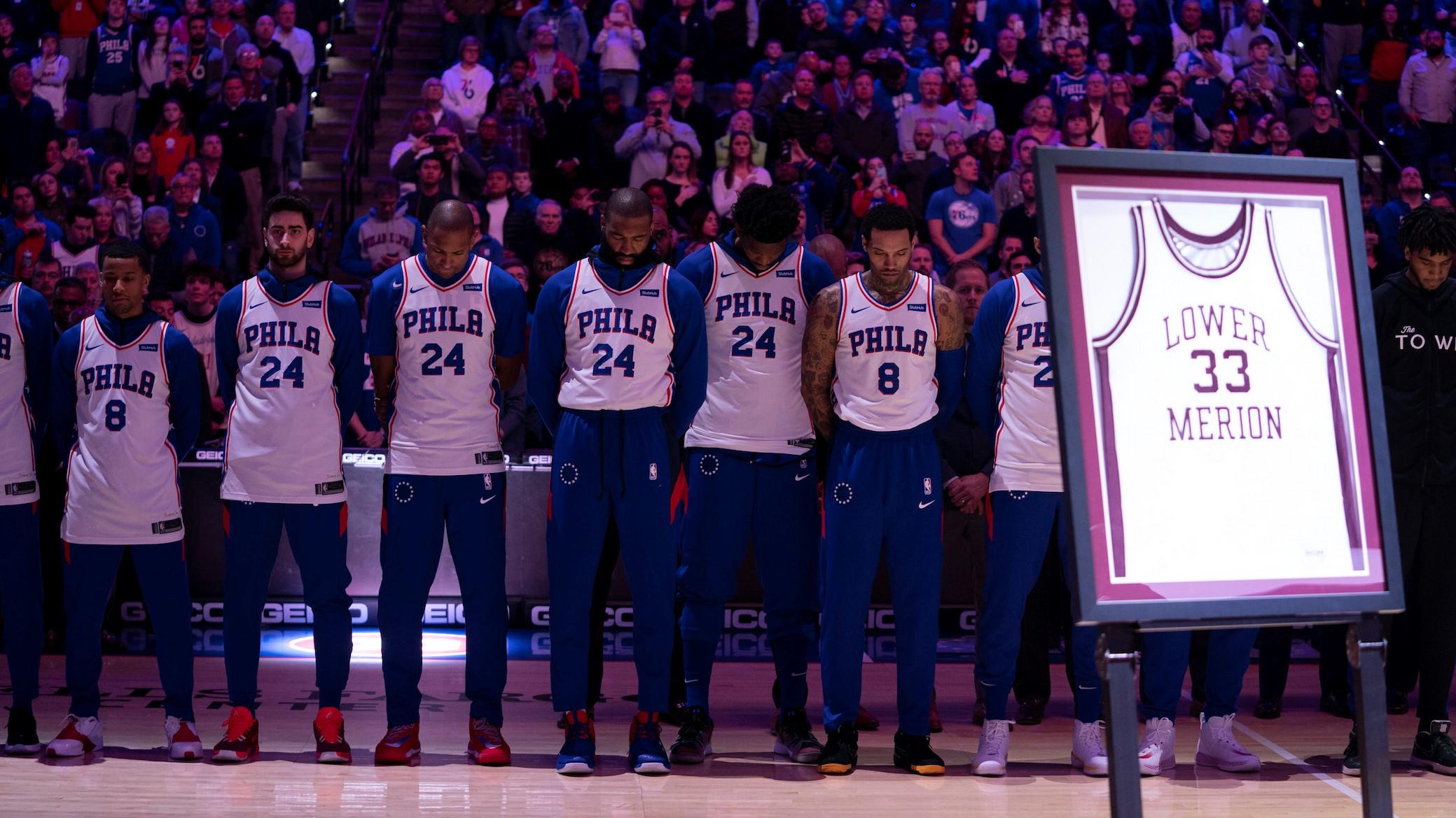 NBA Kobe Bryant Philadelphia