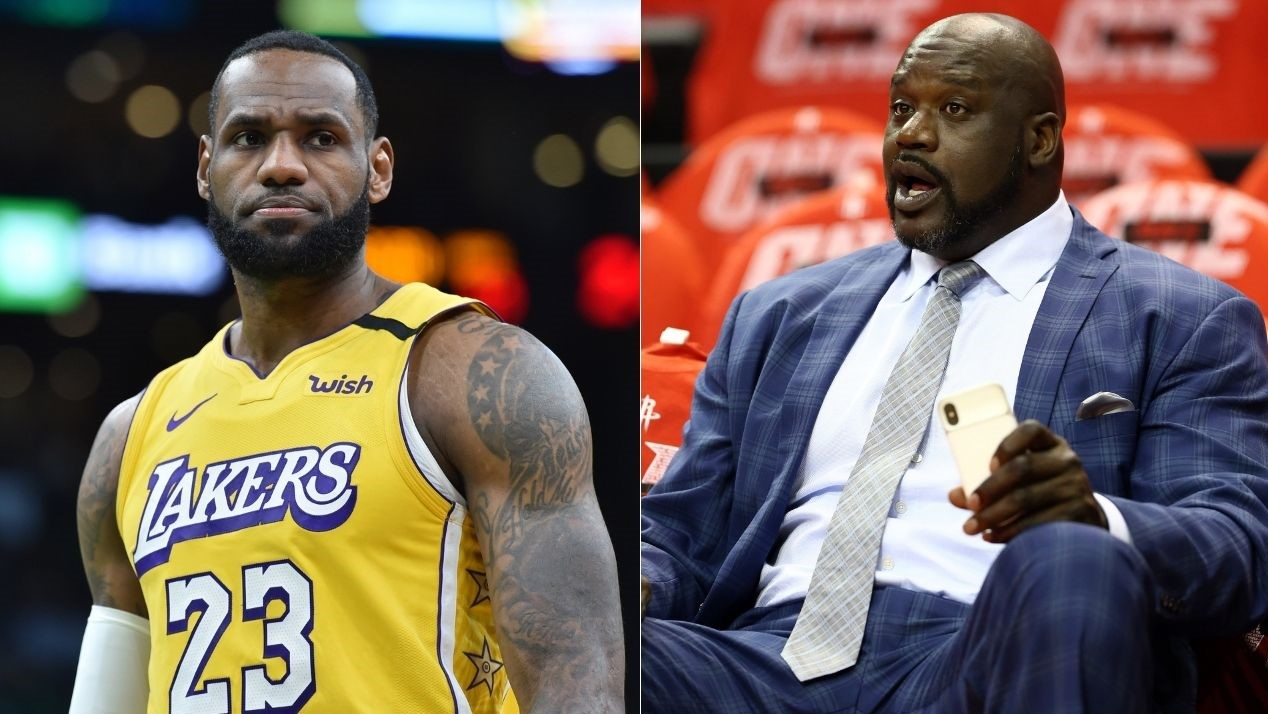 NBA Shaquille O'Neal Lakers