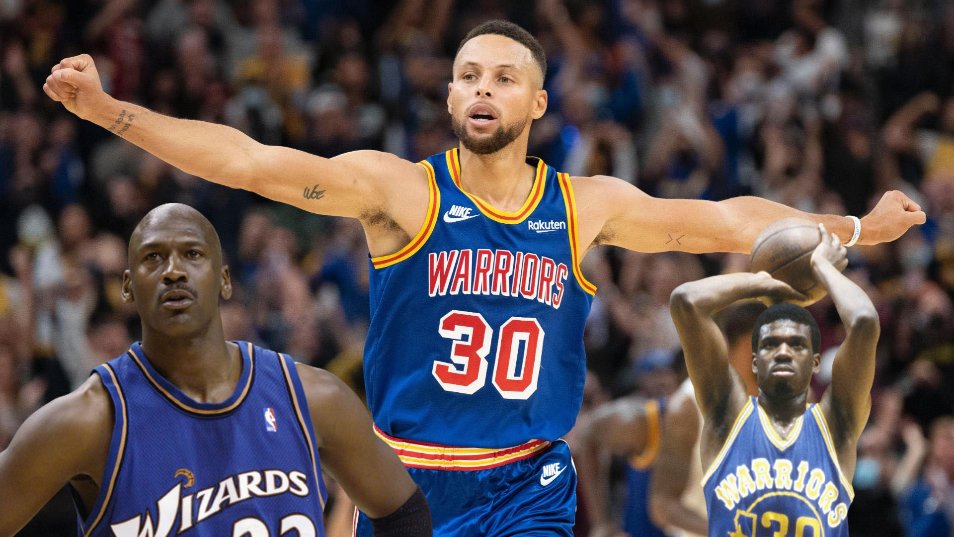 NBA Curry Jordan record