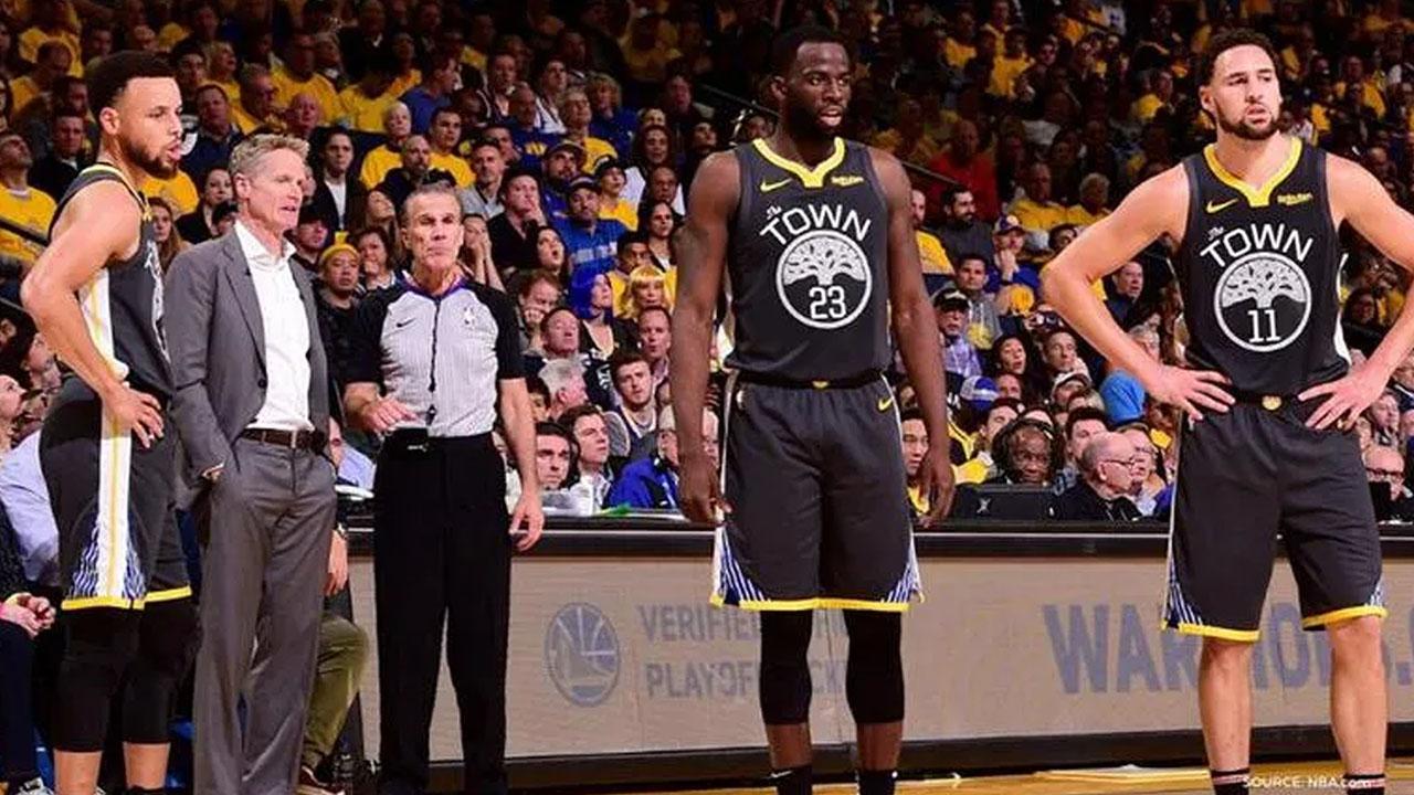 NBA Kerr Thompson Green