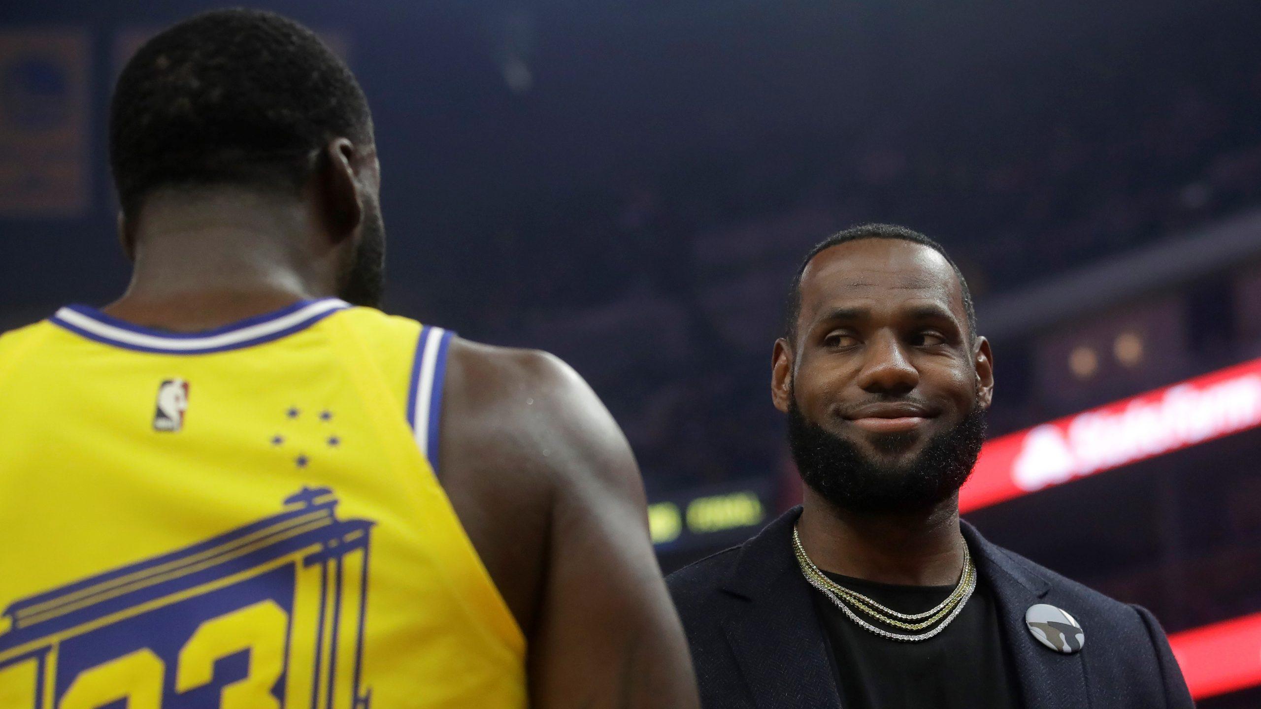 NBA LeBron Green ESPN