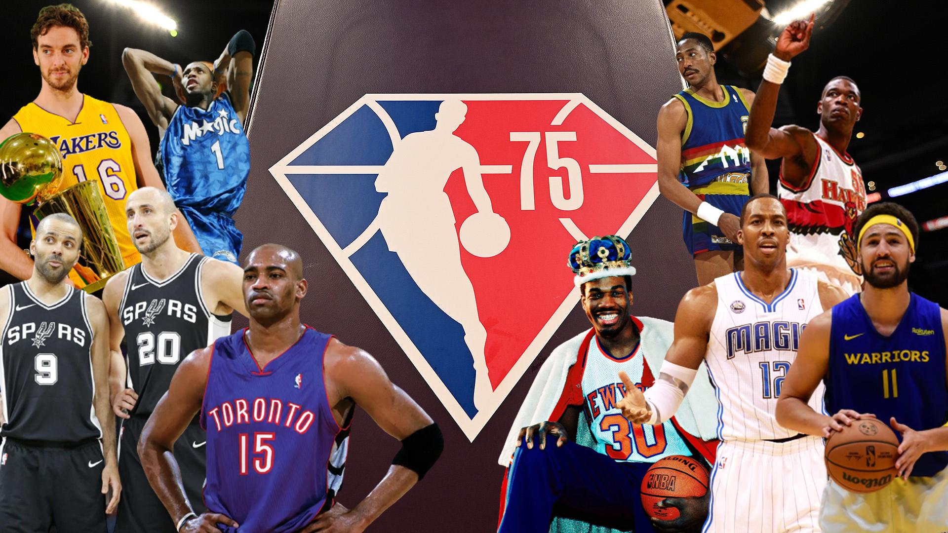 nba 75th anniversary team